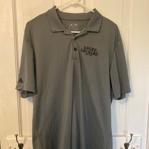 Adidas Angry Orchard Brand Athletic Golf Shirt - L